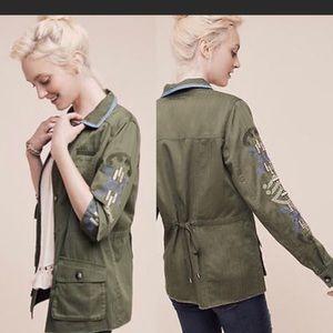 Anthropologie Adventurer Jacket by Hei Hei